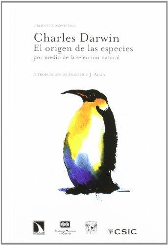 El origen de las especies por medio de la selección natural (Biblioteca Darwiniana) por Charles Darwin
