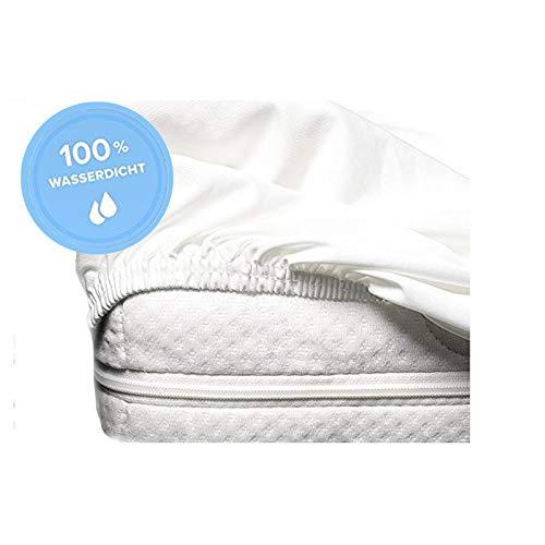 S.Ariba Inkontinenz Spannbettlaken Matratzenschoner mit Rundumgummi für Kinder und Erwachsene (70x140cm)