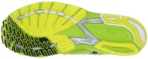 Puma  Complete SLX Fuujin J, chaussures de sport - course à pied homme Vert - Grün (lime punch-black-fluo yellow 1)
