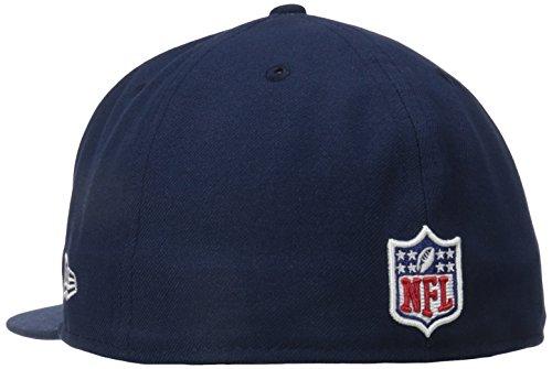 New Era Erwachsene Baseball Cap Mütze NFL On Field New England Patriots 59 Fifty Fitted Team
