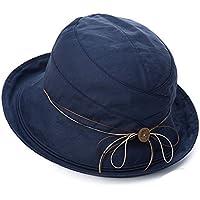 Peng sounded Moda Hat Girl Summer Sunshade Sombrero de la Playa de la protección del Sol Plegable Sombrero del Pescador Anti - UV Sombrero del Sol.