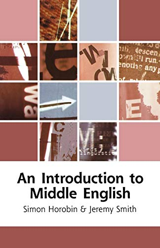An Introduction to Middle English PDF Books