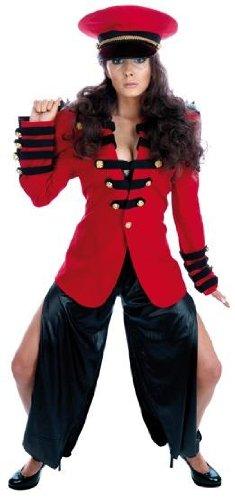 Pop Soldat - Erwachsene Kostüm Kostüm - (Dress Kostüme Fancy Cole Cheryl)