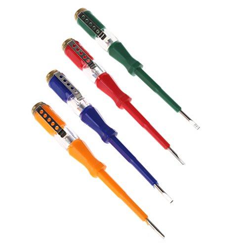 Buntes Test-Stift-tragbares Flaches Schraubenzieher-elektrisches Werkzeug-Gebrauchslicht-Gerät