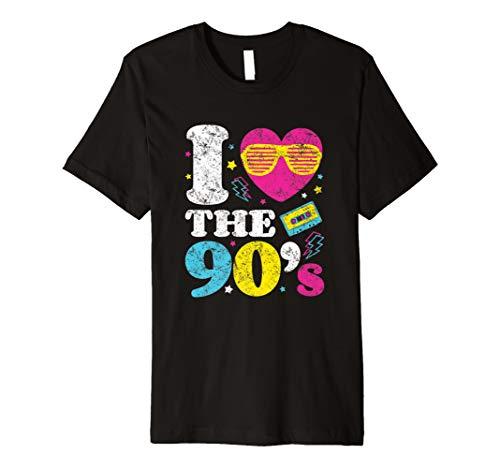 Ich liebe die 90er Jahre T-Shirt Retro 90er ()
