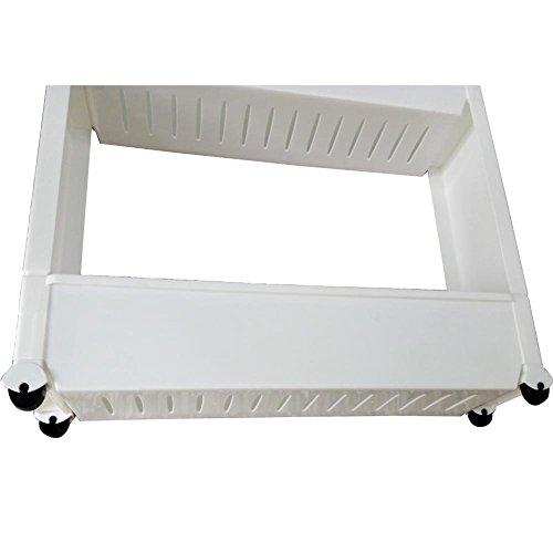 Adoraland 4 scaffale per cucina bianca portaoggetti - Scaffale per cucina ...