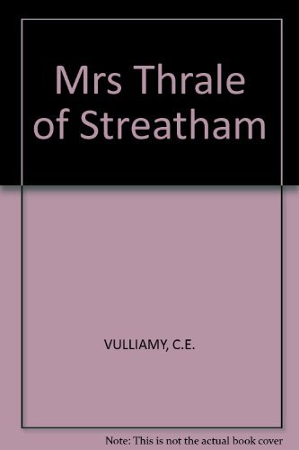 Mrs Thrale of Streatham