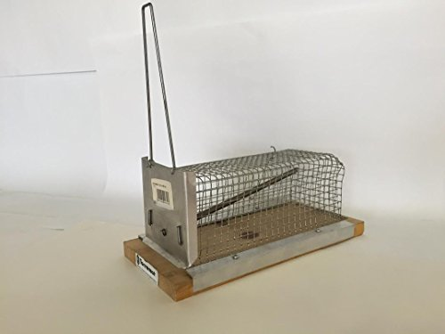 Piège à souris métal torremat Cod. 601200(25x 12x 10cm)