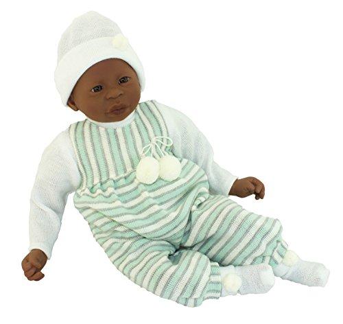 Afrikanische ralfsmith?Alika, Puppe Baby mit Taucher grün Wolle (45203) Preisvergleich