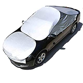Car Windscreen Sun UV Dust Water Resistent Shade Protector in All Weather Fit For Most of Car AUV and Sedan,AUV
