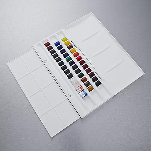 Winsor & newton cotman - set di 36colori - mezza tavolozza (compresi 2di qualità artistica)