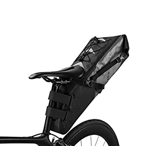 RockBros bolsa de sillín 10L IPX7impermeable bolsa de sillín de bicicleta bolsa trasera asiento bolsa
