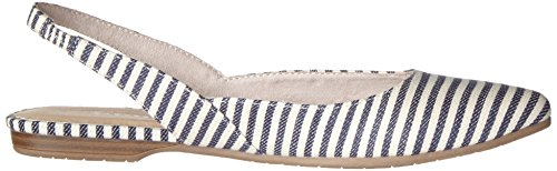Tamaris 29406, Sandali con Zeppa Donna Multicolore (Navy Stripes 874)