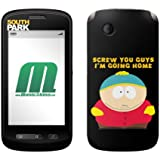 "MusicSkins Sticker de protection pour ZTE Libra Motif South Park ""Screw you guys"""