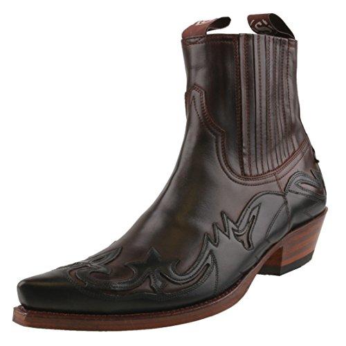 Sendra Boots, Stivali uomo Marrone blu scuro Marrone (blu scuro)