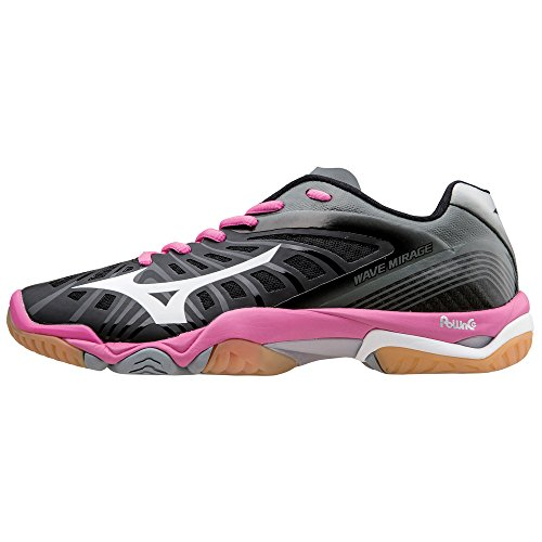 Mizuno Wave Mirage Women's Innen Gerichtsschuh - 41 (Womens Wave Mizuno)