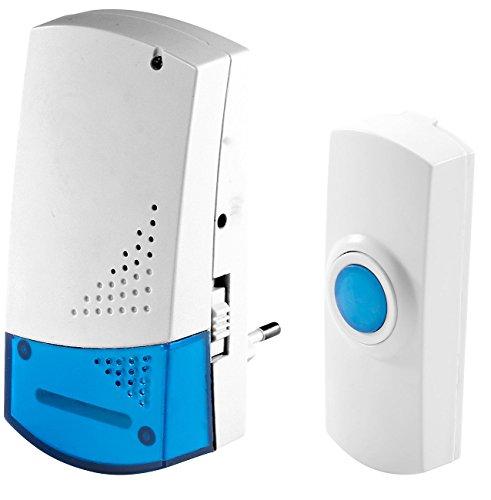 Preisvergleich Produktbild FreeTec Funk-Klingel mit optischem Signal