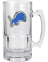 Great American Products Gsml2023-7 1 Liter Macho Mug-Primary Logo-NFL Lions