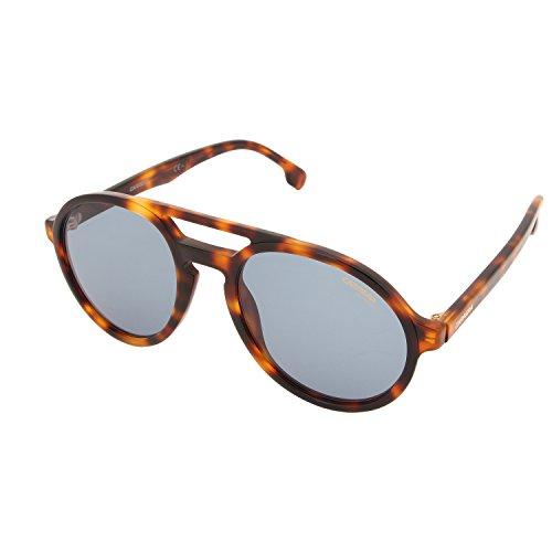 Carrera Unisex-Erwachsene PACE KU SX7 Sonnenbrille, Braun (Light Havana/Blue Avio), 53