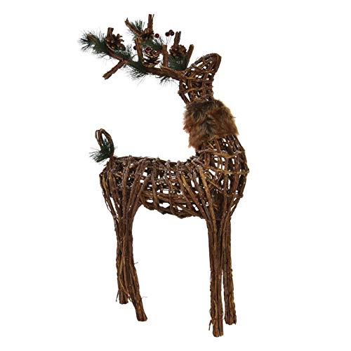 Weihnachten mit Weihnachtlichen Elemente. Original-Design/Ananas 38X16X60 cm-Hogarymas- ()