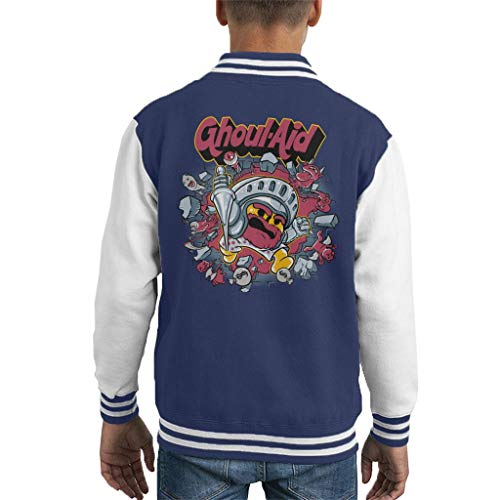 Ghouls N Ghosts Cool Aid Kid's Varsity Jacket - Cool Ghoul, Ghost