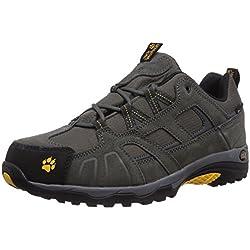 Jack Wolfskin Vojo Hike Texapore 4011381-30551 Herren Trekking- und Wanderhalbschuhe, grau (burly yellow 3800), 44 EU