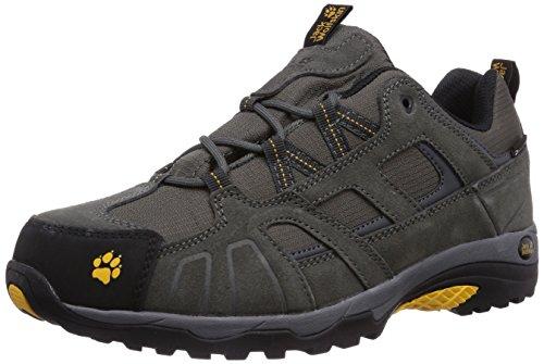 #Jack Wolfskin Vojo Hike Texapore 4011381-30551 Herren Trekking- und Wanderhalbschuhe, grau (burly yellow 3800), 44,5 EU#