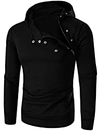 Herren Hoodie Pullover Btruely Winter Männer Kapuzenpullover Langarm Mit  Kapuze Mantel Männer Hooded Sweatshirt… 59013f232e