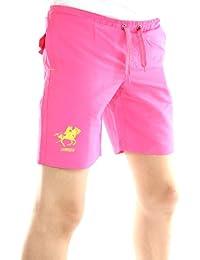 Solamode - Corta garçon - geográfica Noruega - curandero - moda - rosa fluo