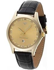 Yves Camani Herren-Armbanduhr Big Twinkle Analog Quarz YC1028-A