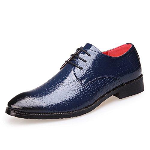 Automne business casual chaussures tendance de la chaussure respirante/Crocodile modèle bracelet chaussures d'Angleterre/Coupe-bas hommes chaussures C