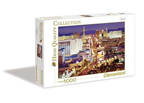 Clementoni - 36510 - Puzzle Collection High Quality 6000 pièces - Las Vegas