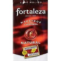 Café Fortaleza Café Molido Natural Tueste Guipuzcoano - 250 gr - [Pack de 3]
