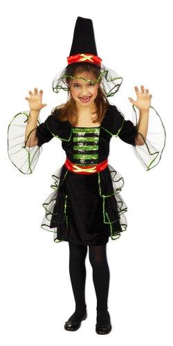 Doktor Kostüm Zombie Für Mädchen (Hexe Luna Kostüm Halloween Kinder Mädchen Gr.)