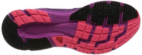 Salomon L38155800, Scarpe da Trail Running Donna, Nero - multi colour