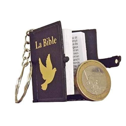 Mini bible porte-clés Evangile de Jean