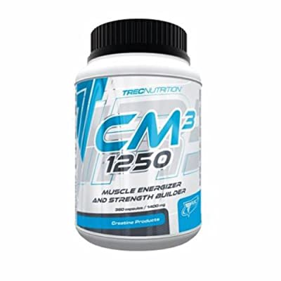 Trec Nutrition -Cm3 1250 -360caps -Creatine Malate for Strength & Increase Muscle Mass!!