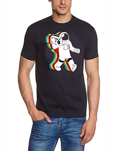 Funky Astronaut -noir - T-SHIRT, taille S