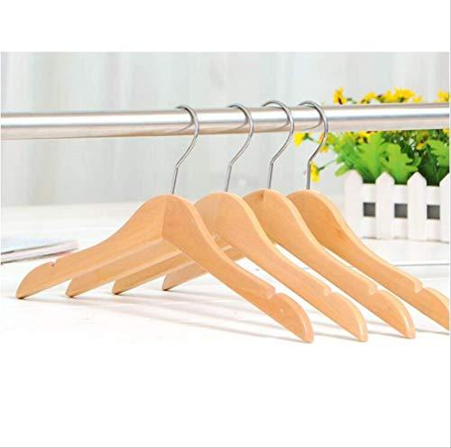 CMX-604 Natürliche Holzhemden Kleiderbügel für Kinder und Kleinkinder, 26-32 cm (12 Teile/los)