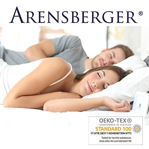 Arensberger Relaxx 9 Zonen Wellness Matratze mit 3D-Memory Foam, 140 cm x 200cm, Höhe 25cm, Raumgewicht 50 kg/m³, drei Schichten: Kaltschaum + Visco Smart Schaum + Gel Schaum - 5