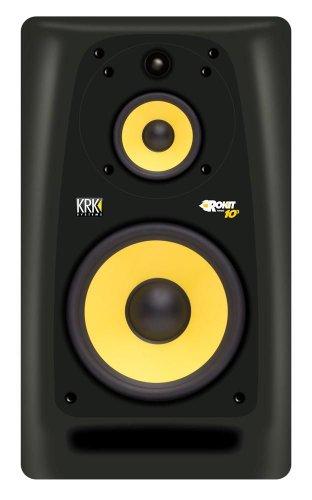 KRK ROKIT RP10G3UK Single Black | Active Studio Monitor Speaker, [Importazione di UK]