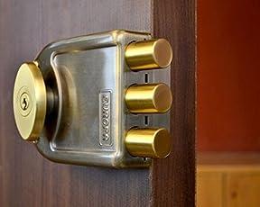 Europa Locks Door Locks (Antique Brass, 20mm)
