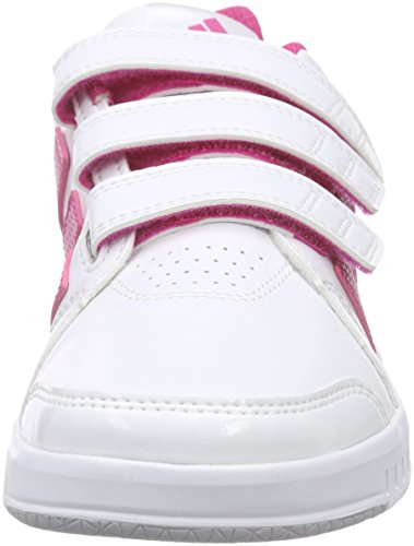 adidas Performance Lk Trainer 7 Cf, Scarpe da Ginnastica Unisex – Bambini Bianco (Weiß (Ftwr White/Eqt Pink S16/Mid Grey S14))