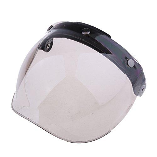 Visiera Con Visiera Protettiva Per Casco Con Visiera A 3 Bottoni Universale Per Moto - Colore # 2