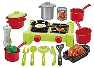 100% Chef-2649 Paquete de Cocina y Accesorios, Color monótono (Simba Toys 2649)