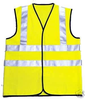 Hi Viz Hi Vis High Visibility Vest / Waistcoat M