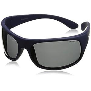 Polaroid - 07886 - Occhiali da sole Donna e Uomo Rettangolare - Polarizzati - Materiale leggero - Custodia protettiva inclusa 4 spesavip