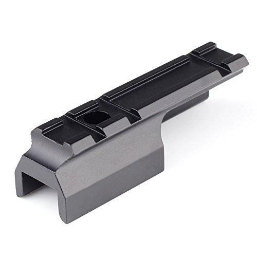 VERY100 Aluminum Weaver / Picatinny Schienen-Bereich-Einfassung 3 Slots 20 mm Schiene für Gewehre