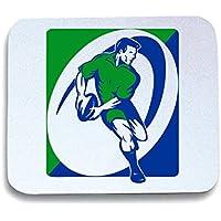 T-Shirtshock - Tappetino Mouse Pad TRUG0070 rugby, Taglia taglia