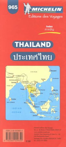 Carte routière : Thaïlande, 965, 1/1 370 000